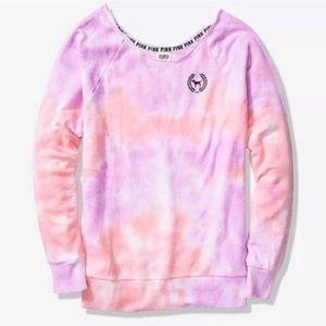 PINK Victoria's Secret Sweaters - VS PINK Raw Cut Legging Crew Sweater XS